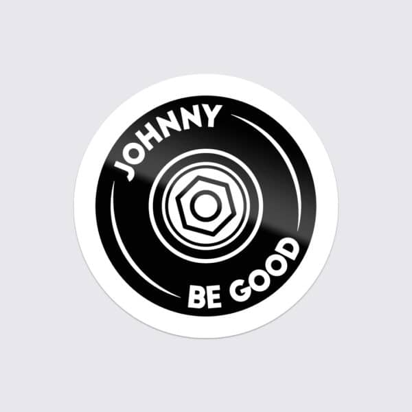 "Johnny Be Good Sticker ""Skate"""