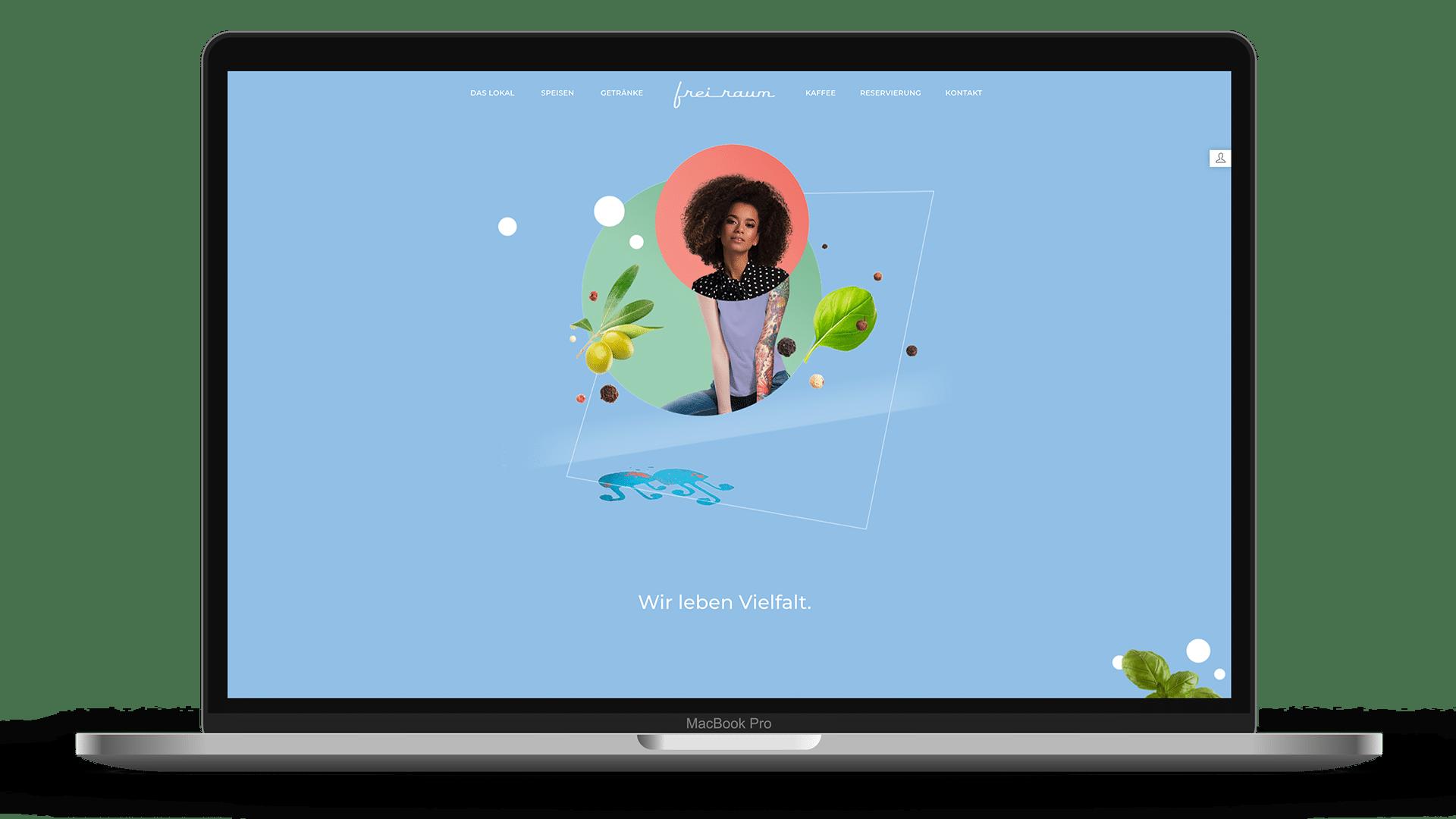 Freiraum Website