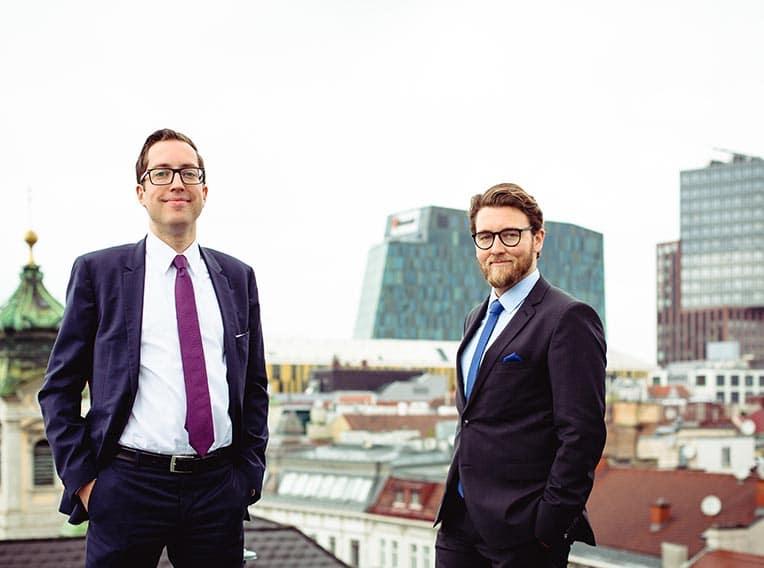 Markenanmeldung mit dem KOMWID Team – Dr. Alexander Kompein und Mag. Christopher Widmann