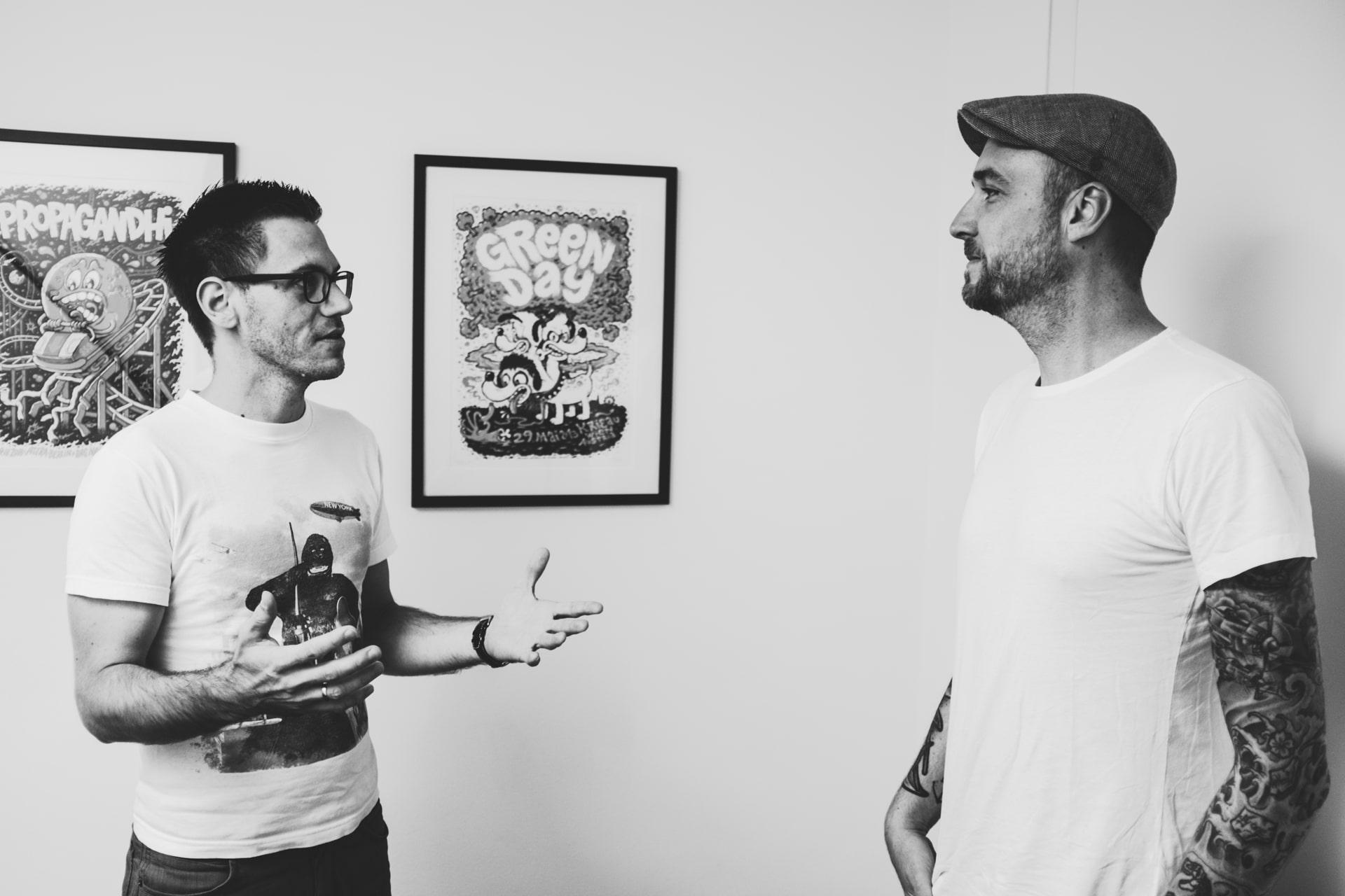 Dominik Wachholder (flink) im Interview mit Florian kozak (Johnny Be Good)