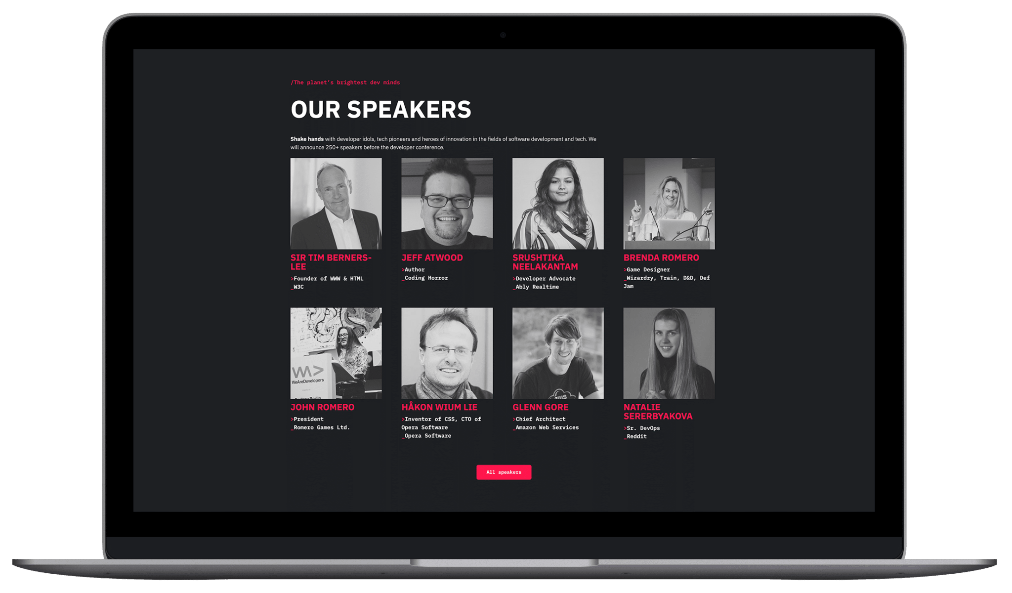 We are developers World Congress Berlin – Rebranding by Johnny Be Good
